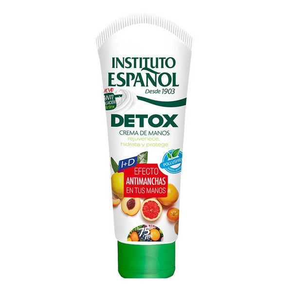 Anti-brune flekker håndkrem Detox Instituto Español (75 ml)