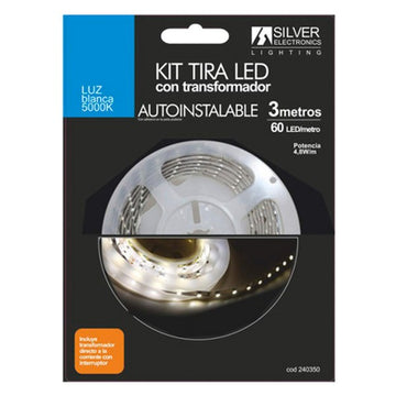 LED striper Silver Electronics 240350 5000K Blanco 3M