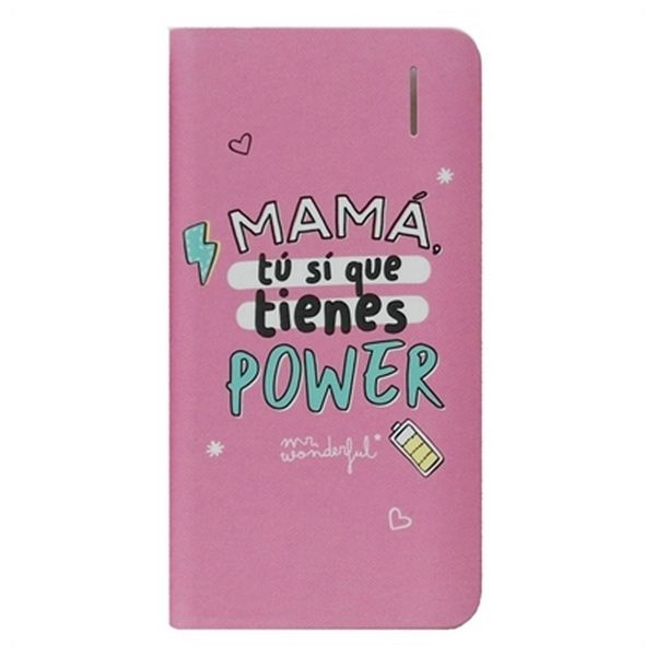 Powerbank Mr. Wonderful MRPWB031 4000 mAh Rosa