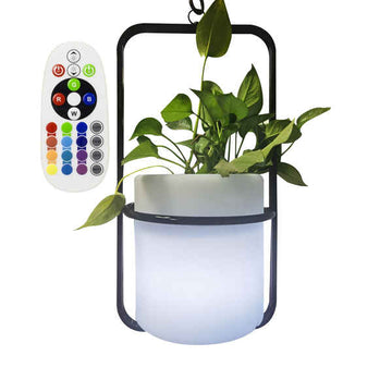 Planter LED Ledkia IP65 2,5 W (RGBW) (24 x 55 cm)