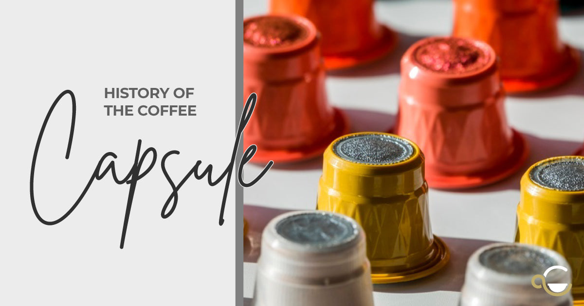 A Brief History of the Coffee Capsule Thumbnail