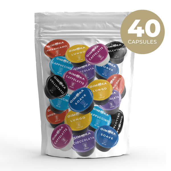 Lucky Draw Deal – 40 Nescafe Dolce Gusto compatible coffee capsules