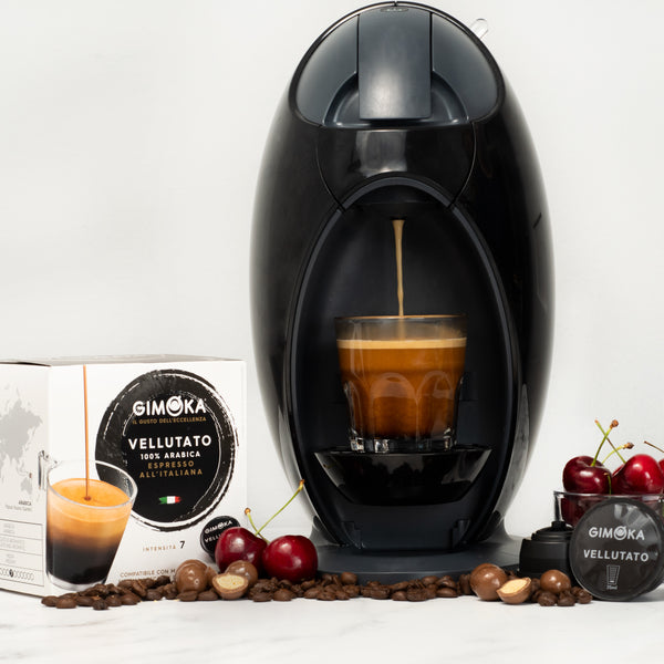 Gimoka Coffee Variety (no Decaffe) - 48 Nescafe Dolce Gusto compatible coffee capsules