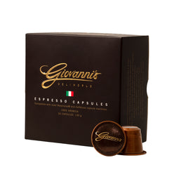 Giovannis Premium Gold Gift Box - 26 Nespresso compatible coffee capsules thumbnail