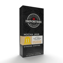 Importers Mocha Java - Nespresso compatible coffee capsules thumbnail