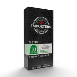 Importers Venice - Nespresso compatible coffee capsules thumbnail