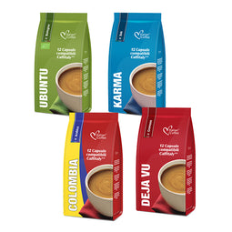 Coffee Variety - 48 Caffitaly compatible coffee capsules thumbnail