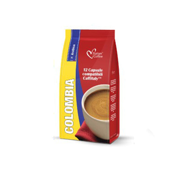 Colombia Caffitaly compatible coffee capsules