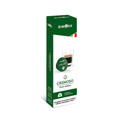 Gimoka Cremoso - 10 Caffitaly compatible coffee capsules thumbnail