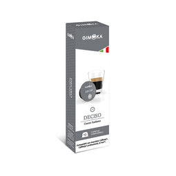 Gimoka Deciso - 10 Caffitaly compatible coffee capsules thumbnail