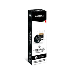 Gimoka Vellutato - 10 Caffitaly compatible coffee capsules thumbnail