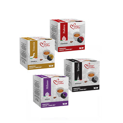 Italian Deluxe Coffee Mix - 64 Lavazza A Modo Mio compatible coffee capsules thumbnail