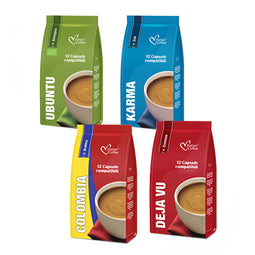 Coffee Variety - 48 K-fee compatible coffee capsules thumbnail