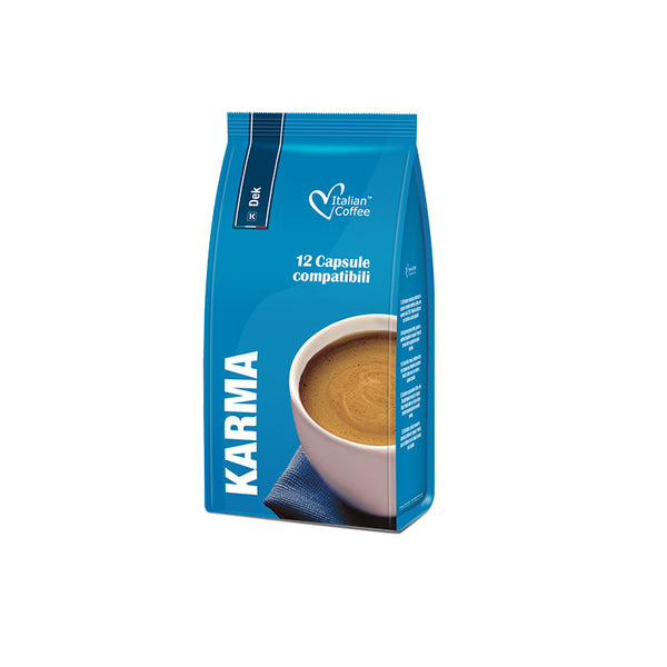 karma decaffe k-fee compatible coffee capsules