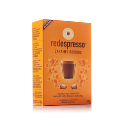 red espresso Caramel Rooibos - 10 Nespresso compatible capsules thumbnail