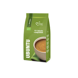Ubuntu Organic - 12 K-fee compatible coffee capsules thumbnail
