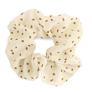 Scrunchie Dots Off-White