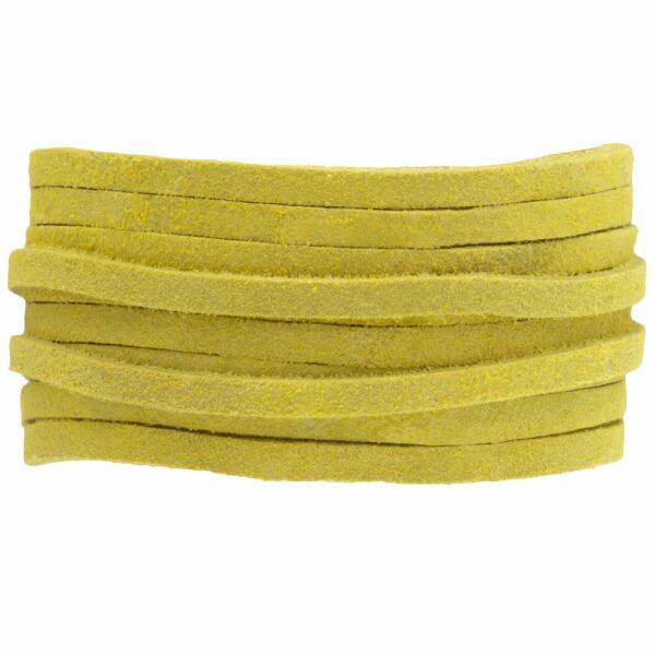 Suede Veter 3mm Lime 5meter