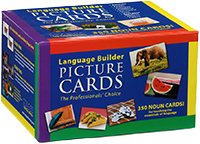 Language Builder Print Based Flash Cards