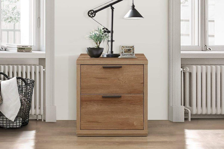 Stockwell 2 Drawer Bedside Table