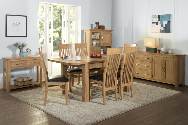 Treviso Oak 6'0 Extension Dining Table