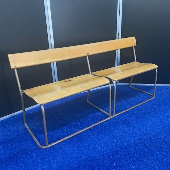 Wooden Shool Bench