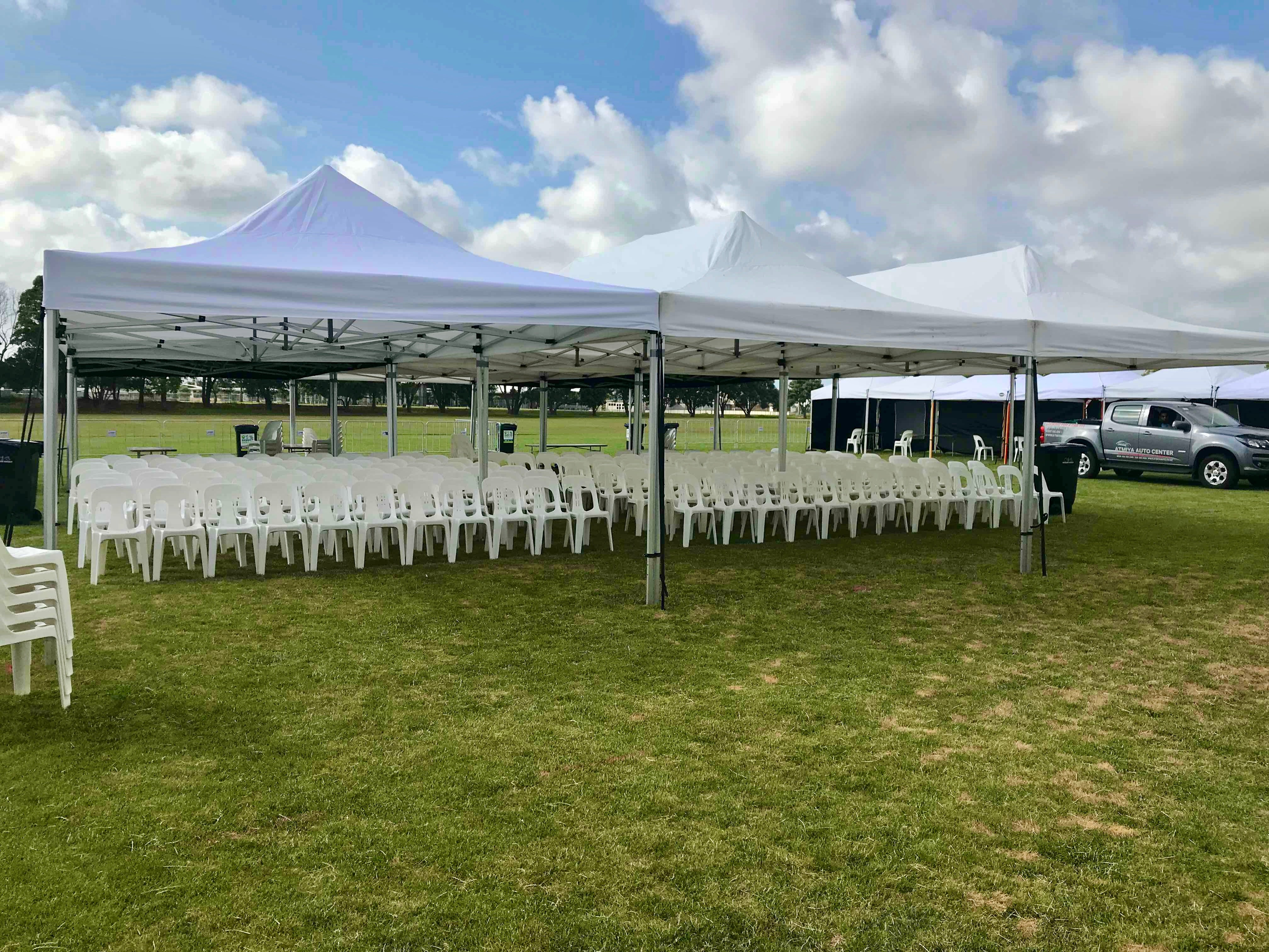 8x4m KNE Marquee = 32m2