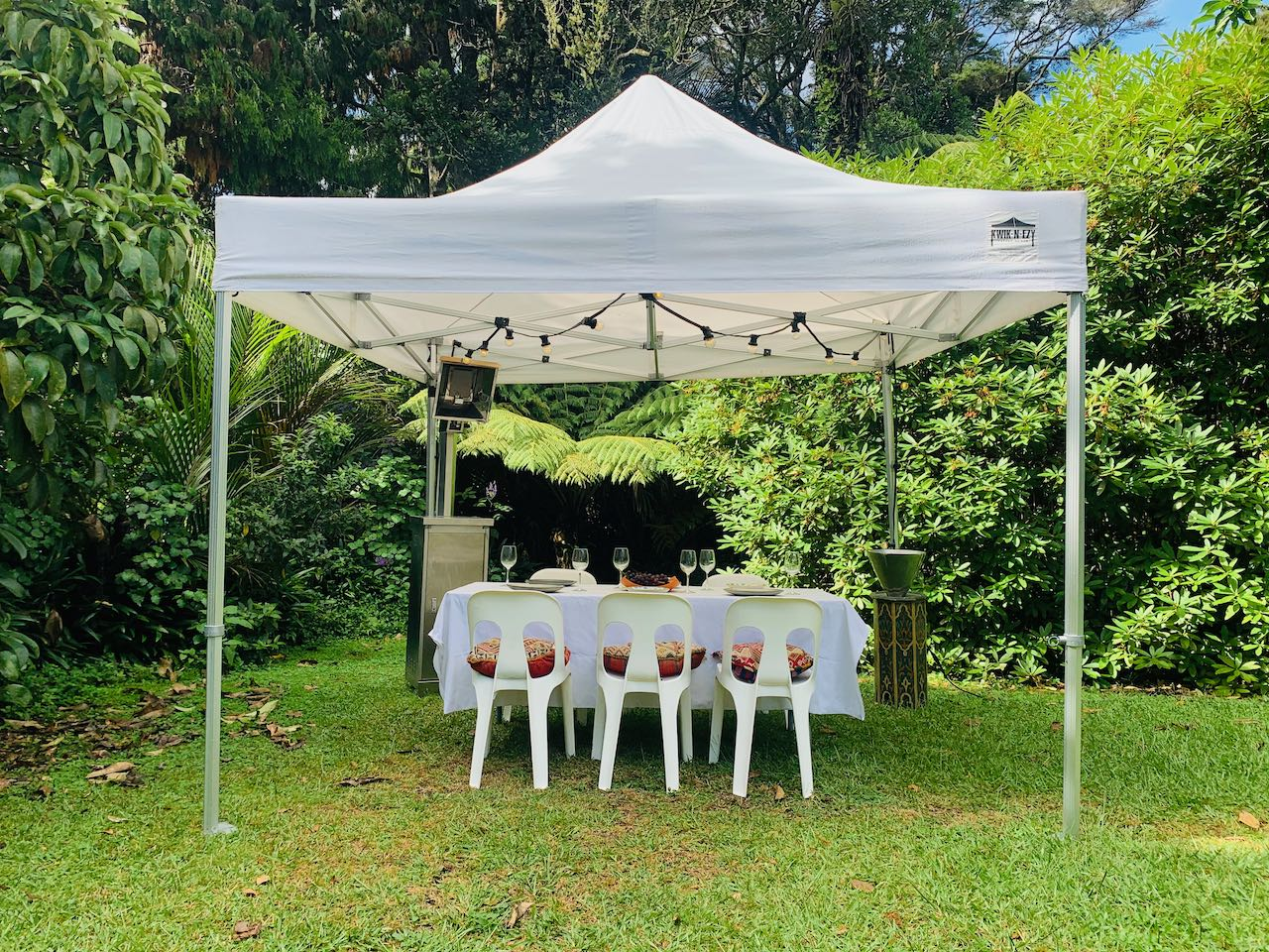4x4m KNE Canopy Dining Package