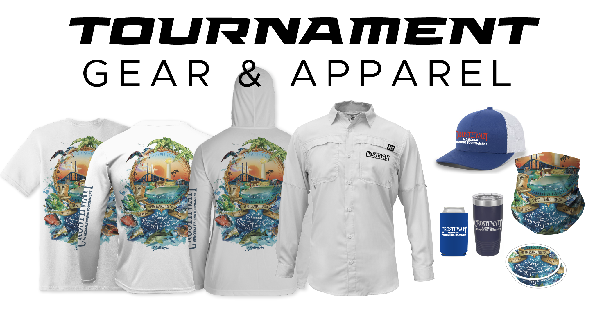 Fishing Tournament Shirts Long Sleeve Performance Dryfit from Salty Legends
