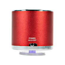 Load image into Gallery viewer, Craig CMA3532A-RD Aluminum Case Ultra Sound Portable Speaker in Red