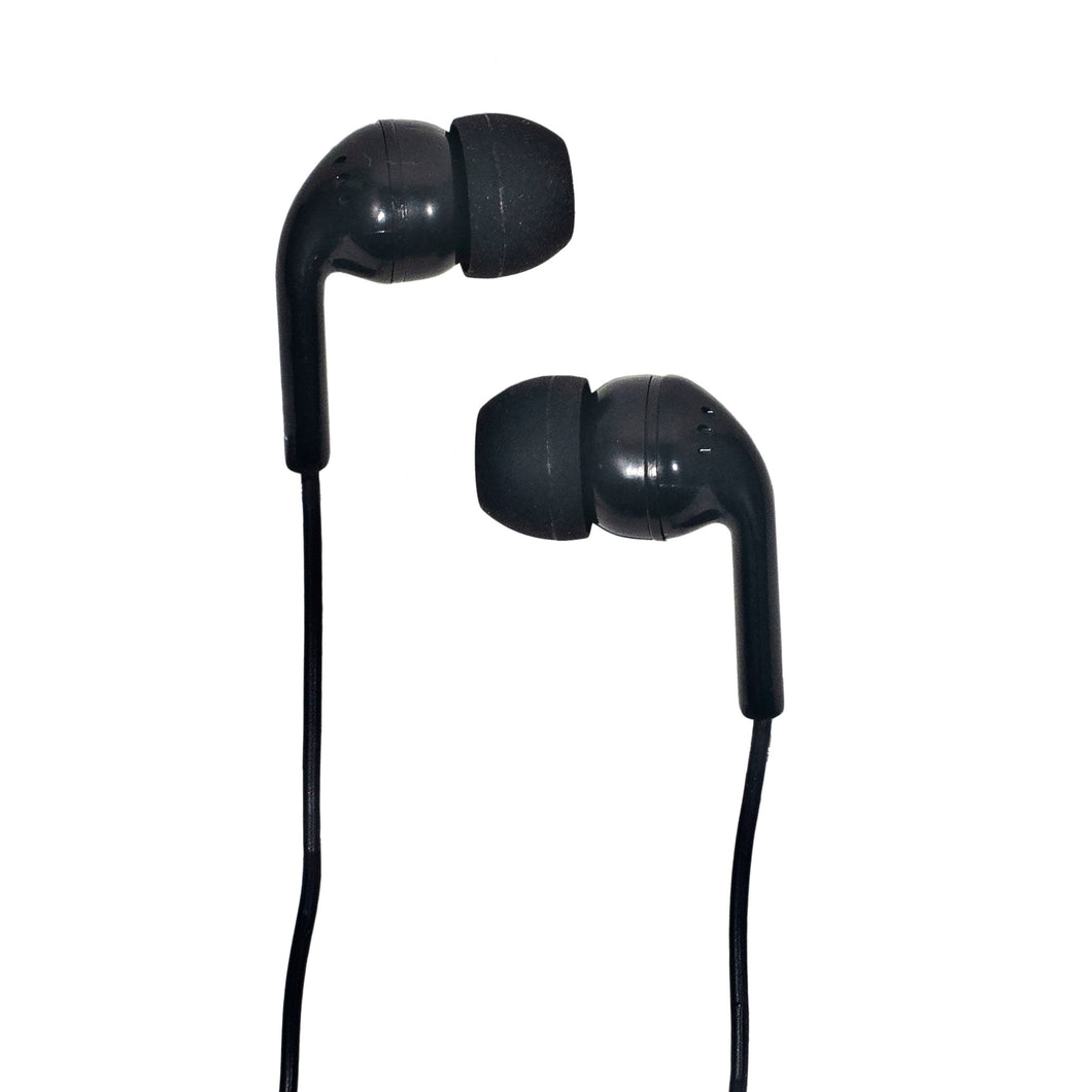 Craig CHP4807 Ear Buds with Gummy Cushion in Black