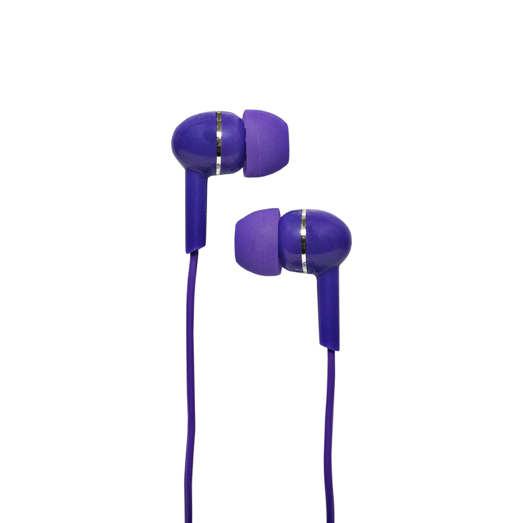 Magnavox MHP4850-PL Ear Buds in Purple