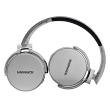 Load image into Gallery viewer, Magnavox MBH542-SG Bluetooth Wireless Foldable Stereo Headphones in Space Grey