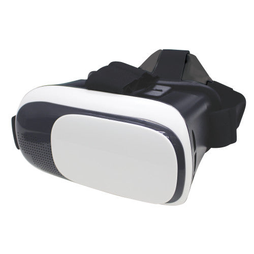 Craig CC338 3D Virtual Reality Headset for Smartphones with 4 in. – 5.5 in. Screen in Black and White