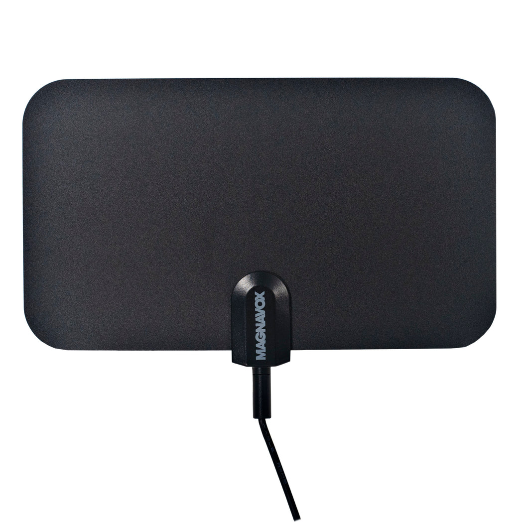 Magnavox MC337 Indoor Antenna with Built in 3.3ft Coaxial Cord in Black
