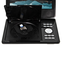 Load image into Gallery viewer, Magnavox MTFT713-BK Portable 9 Inch TFT Swivel Screen DVD/CD Player in Black