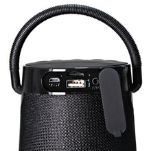 Load image into Gallery viewer, Magnavox MMA3763-BK Portable Bluetooth Speaker Easy Carry Hand Strap in Black