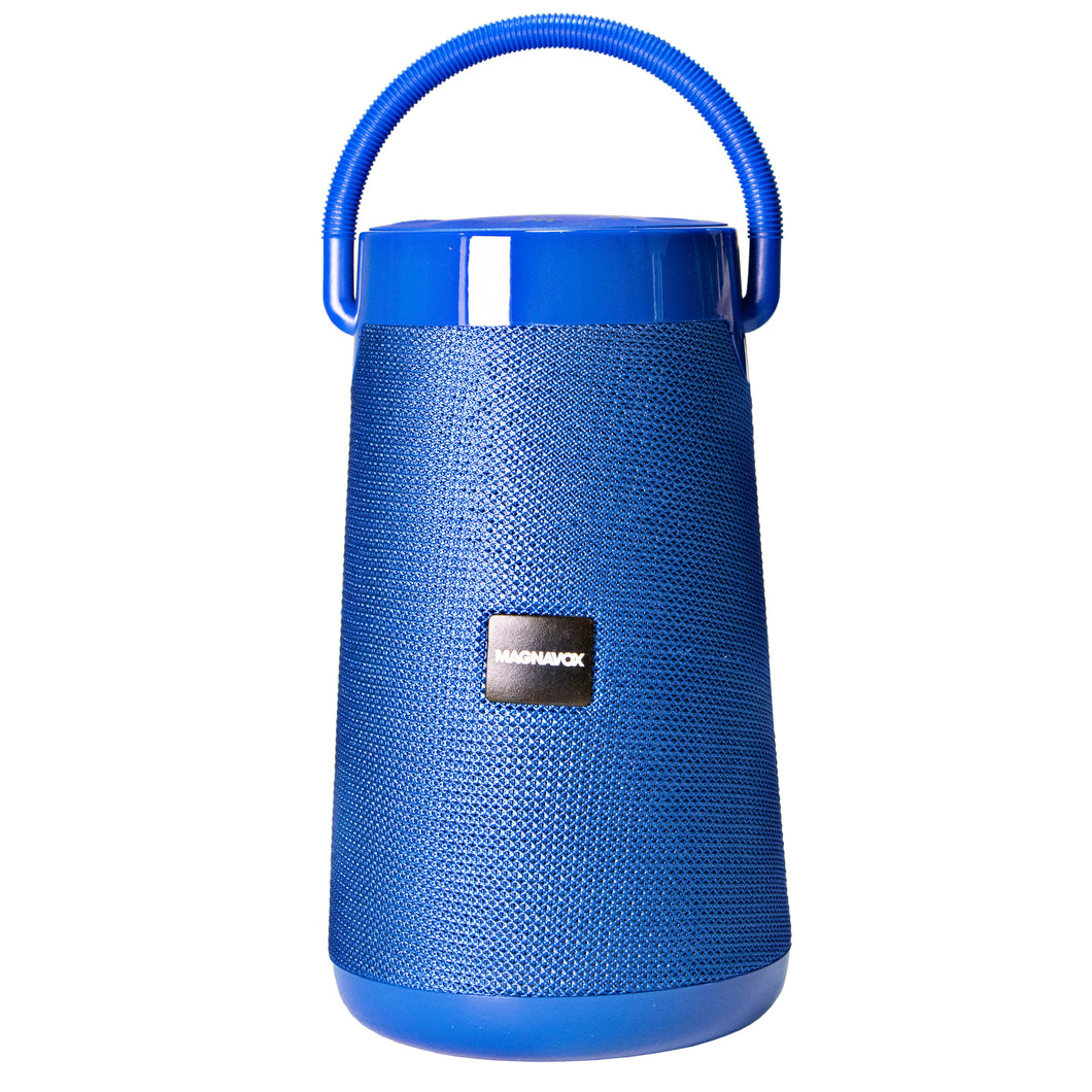 Magnavox MMA3763-BL Portable Bluetooth Speaker Easy Carry Hand Strap in Blue