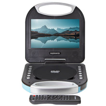 Load image into Gallery viewer, Magnavox MTFT750-BL Portable 7 inch DVD/CD Player with Remote in Blue