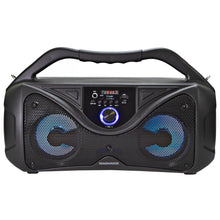 Load image into Gallery viewer, Magnavox MMA3836 Portable Bluetooth Speaker with Color Changing Lights in Black