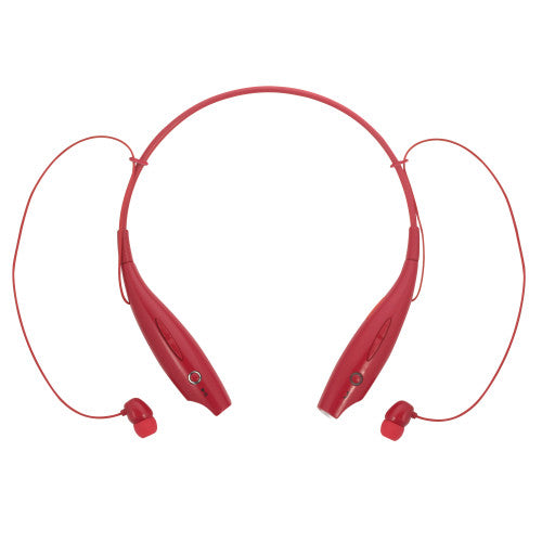 Magnavox MBH513-RD In-Ear Bluetooth Stereo Ear Buds with Microphone in Red