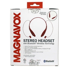 Load image into Gallery viewer, Magnavox MBH513-RD In-Ear Bluetooth Stereo Ear Buds with Microphone in Red