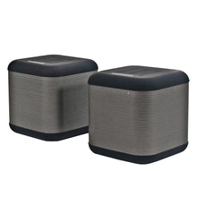 Load image into Gallery viewer, Magnavox MMA3627 Bluetooth DSP Speakers with Dual Operation Mode in Silver and Black