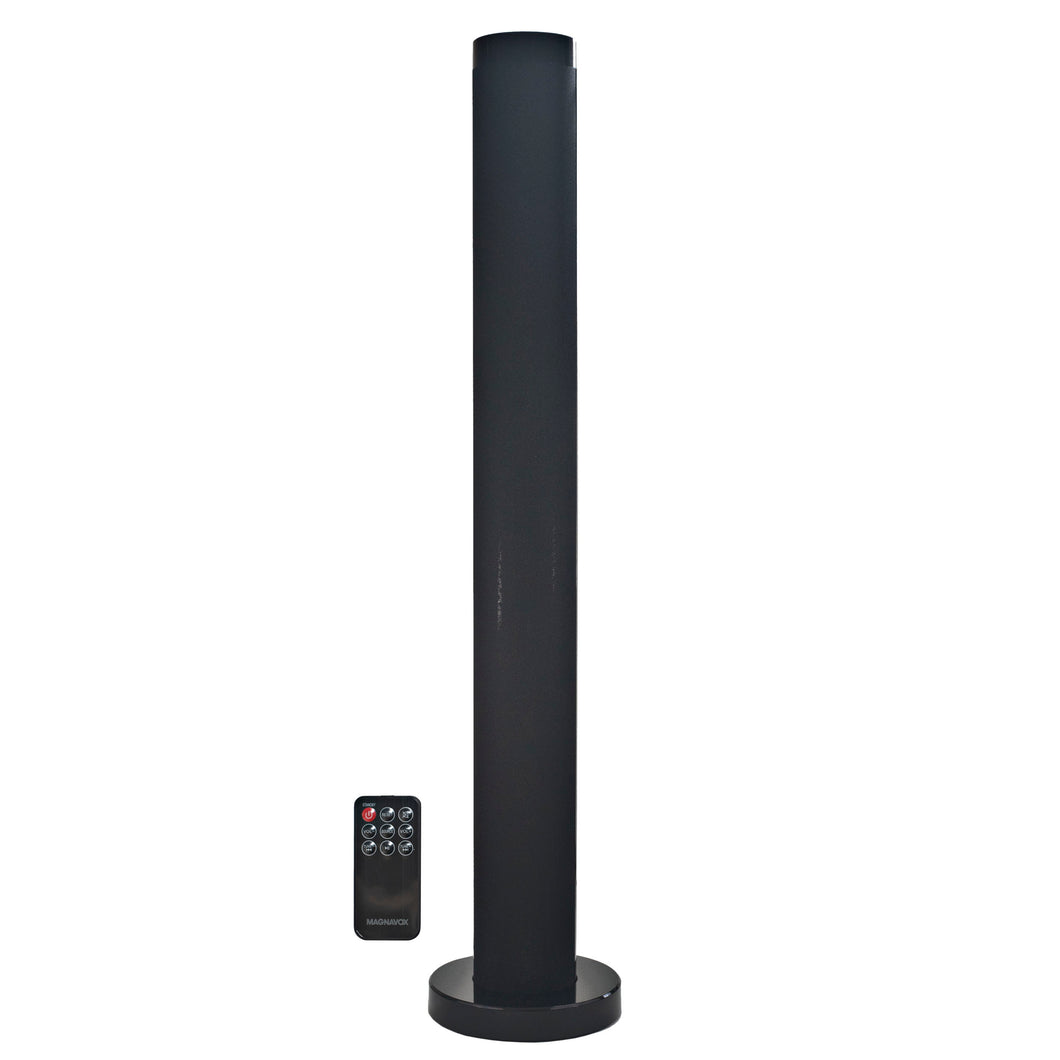 Magnavox MHT843N Bluetooth Tower Speaker System with Remote Control in Black