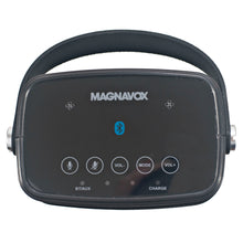 Load image into Gallery viewer, Magnavox MSH317 Waterproof Alexa Voice Activated Bluetooth Speaker in Black