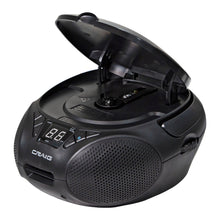 Load image into Gallery viewer, Craig CD6925BT-BK Portable CD Boombox with AM/FM Stereo Radio and Bluetooth in Black