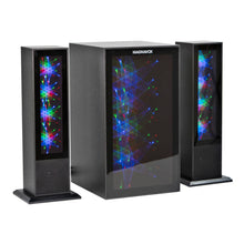 Load image into Gallery viewer, Magnavox MHT990 Bluetooth Home Theater System with Color Changing Lights in Black