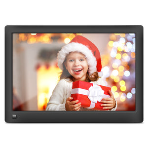 LOVCUBE Smart Digital Picture Frame,10 Inch WiFi Cloud Frame with 10GB Free Cloud Storage (Black)
