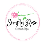 Simply Rose Custom Dips
