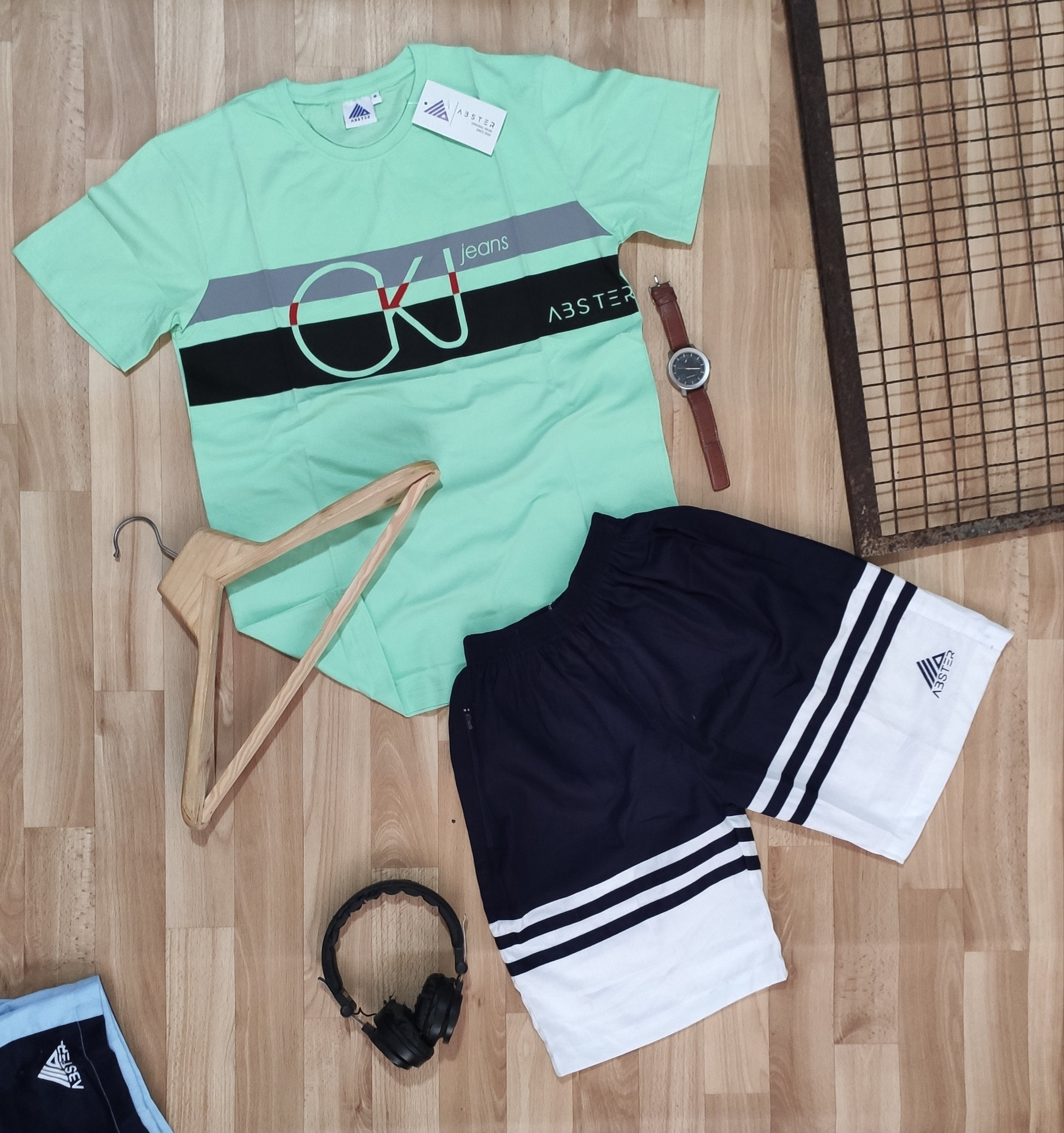 Mens shorts combo pair- ROYAL GREEN edition